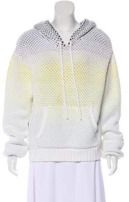 Proenza Schouler Hooded Knit Sweater