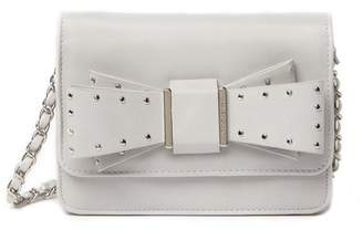 Betsey Johnson Stud Bow Crossbody Bag