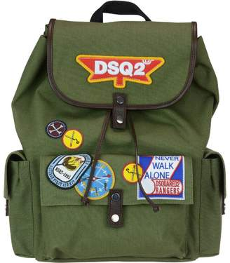 DSQUARED2 Bad Scout Military Trimmed Backpack