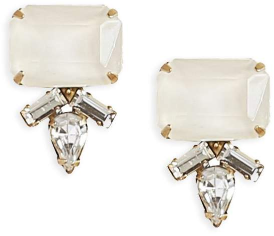 Loren Hope SIREN STUDS IN WHITE