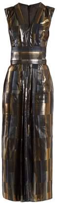 CARL KAPP Aerosphere sleeveless jacquard dress