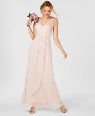 Blush Colored Evening Gowns Shopstyle