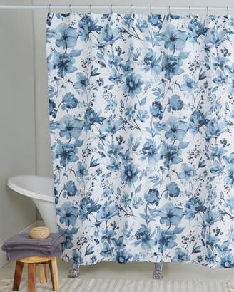 Nicole Miller Wild Flower Shower Curtain