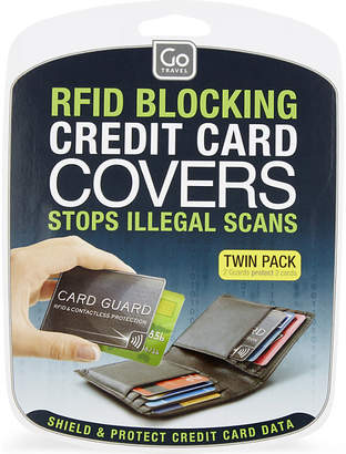 Go Travel RFID Card Guards twin-pack