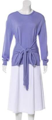 No.21 No. 21 Virgin Wool Long Sleeve Top w/ Tags