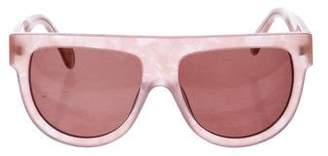 Ganni Tinted Square Sunglasses