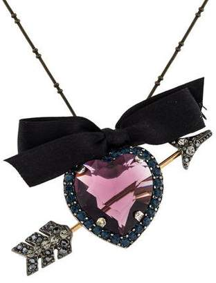 Lanvin Heart Pendant Necklace