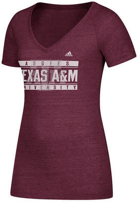 adidas Women's Texas A & M Aggies Rhinestone T-Shirt