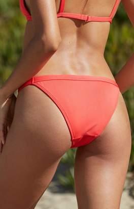 La Hearts Chunky Ribbed Cheeky Bikini Bottom