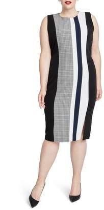 Rachel Roy Hailey Stripe Sheath Dress