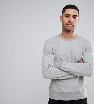 Nudie Jeans crew neck sweatshirt in grey