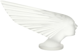 Lalique Clear Victoire Paperweight