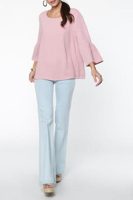 Everly Bell Sleeve Top $42 thestylecure.com