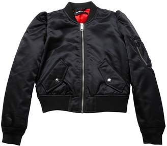 Diesel Padded Nylon Satin Bomber Jacket