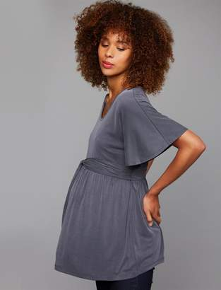 A Pea in the Pod A-line Flutter Sleeve Maternity Top