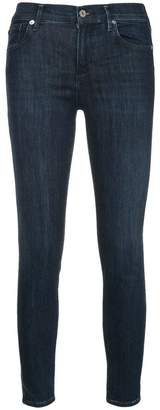 A Gold E Agolde Sophie cropped skinny jeans