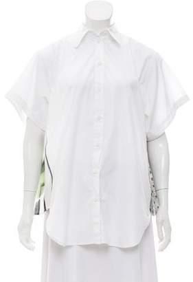 MM6 MAISON MARGIELA Oversize Button-Up Blouse