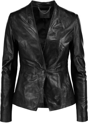 Muubaa Shaula leather jacket $530 thestylecure.com