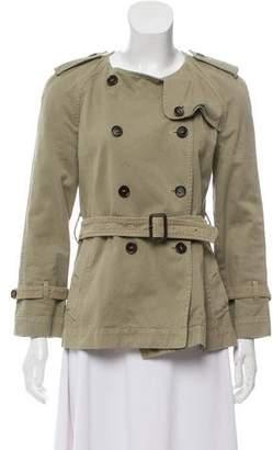 Etoile Isabel Marant Denim Double-Breasted Jacket