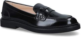 J.P Tods Patent Leather Pesante Loafers