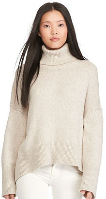 Polo Ralph Lauren Boxy Turtleneck Sweater $298 thestylecure.com