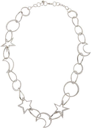 Lydell NYC Single-Strand Cubic Zirconia Celestial Necklace