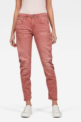 G Star Womens G-Star Arc 3D Low Boyfriend Jeans - Pink
