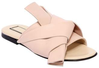 N°21 Leather Slide Sandals