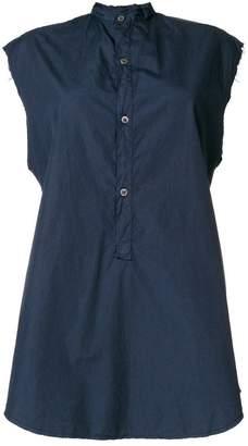 Barena sleeveless mandarin shirt