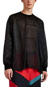 Facetasm Men's Mesh Long-Sleeve T-Shirt - Black
