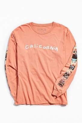 Urban Outfitters Diplo Artist Portrait Long Sleeve Tee