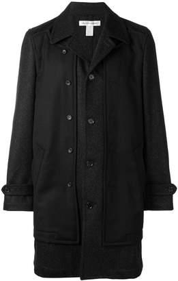Comme des Garcons buttoned midi coat