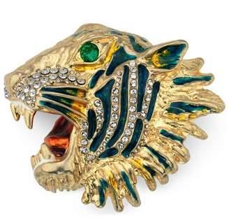 Gucci Metal tiger head brooch
