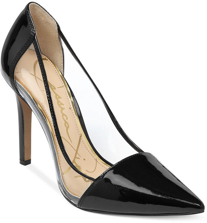 Jessica Simpson Calkins Lucite Pumps