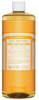 Dr Bronner Organic Citrus Castile Liquid Soap 946ml
