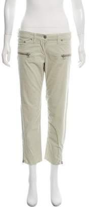 Etoile Isabel Marant Cropped Corduroy Pants