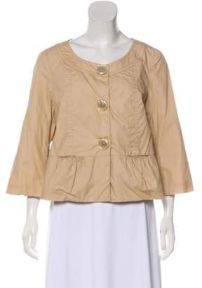 MICHAEL Michael Kors Long Sleeve Scoop Neck Jacket