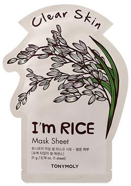 Tony Moly Tonymoly TonyMoly I'm Rice Sheet Mask