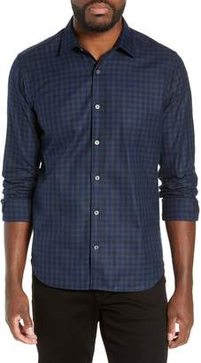 Buffalo David Bitton Jeff Slim Fit Check Flannel Shirt
