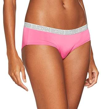 Bjorn Borg Women's 1P Hipster Bb Seasonal Solid Brief,(Manufacturer Size: 42)