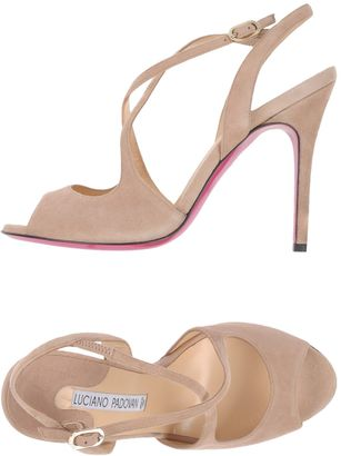 LUCIANO PADOVAN Sandals $262 thestylecure.com
