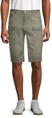 Jet Lag Camouflage-Print Cargo Shorts