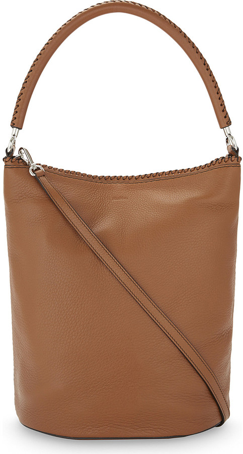 Max Mara Max Mara Deer leather bucket bag