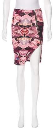 Nicholas Printed Knee-Length Skirt