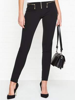 Versace High WaistedSafety Pin Trousers