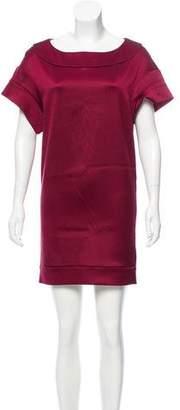 Miu Miu Silk Rib Knit Dress
