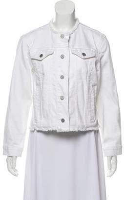 Rebecca Taylor Cropped Denim Jacket w/ Tags