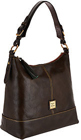 As Is Dooney & Bourke Toledo Leather Sophie Hobo $136 thestylecure.com