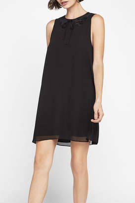 BCBGeneration Sleeveless Lace Inset Dress