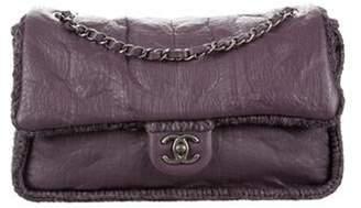 Chanel Paris-Edinburgh Chic Knit Small Flap Bag Purple Paris-Edinburgh Chic Knit Small Flap Bag